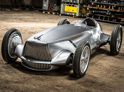 复古风电动概念车 英菲尼迪 Prototype 9