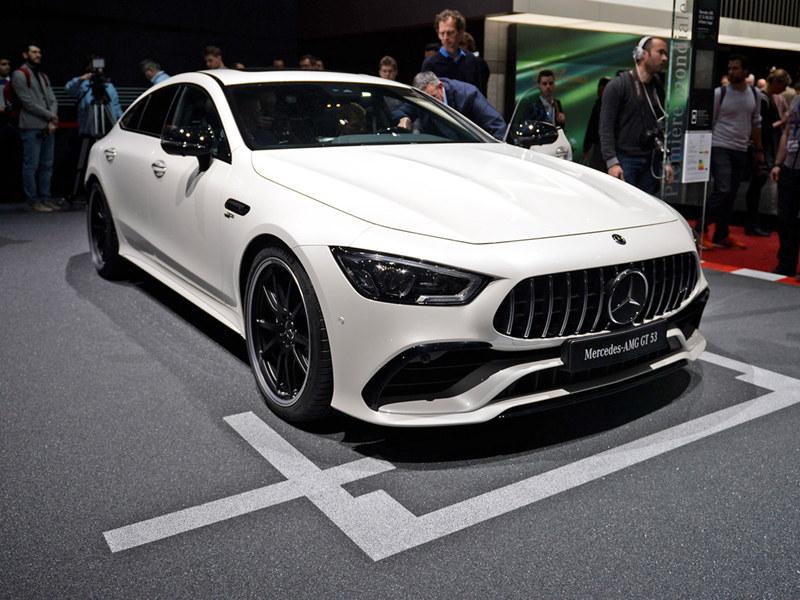 2018日内瓦车展实拍 奔驰AMG GT四门版